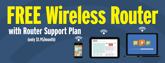 Free Wireless Router