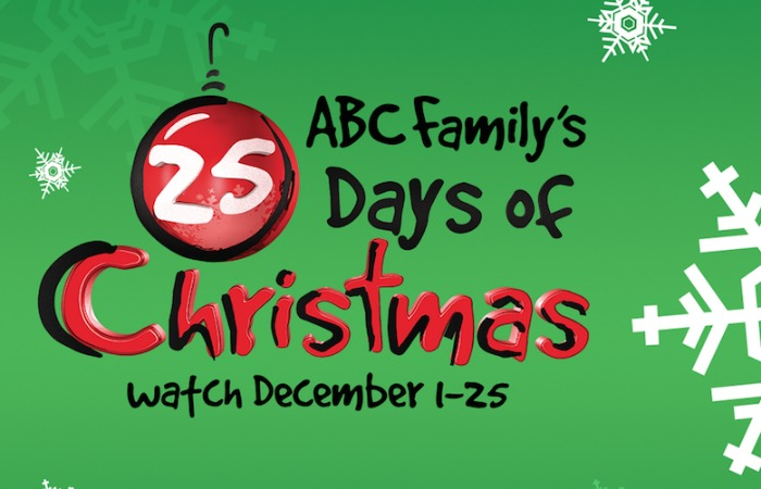 Abc Family Christmas.Bring On The Holidays With Abc Family S 25 Days Of Christmas