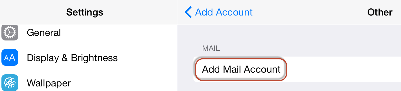 how to change my email password on my ipad
