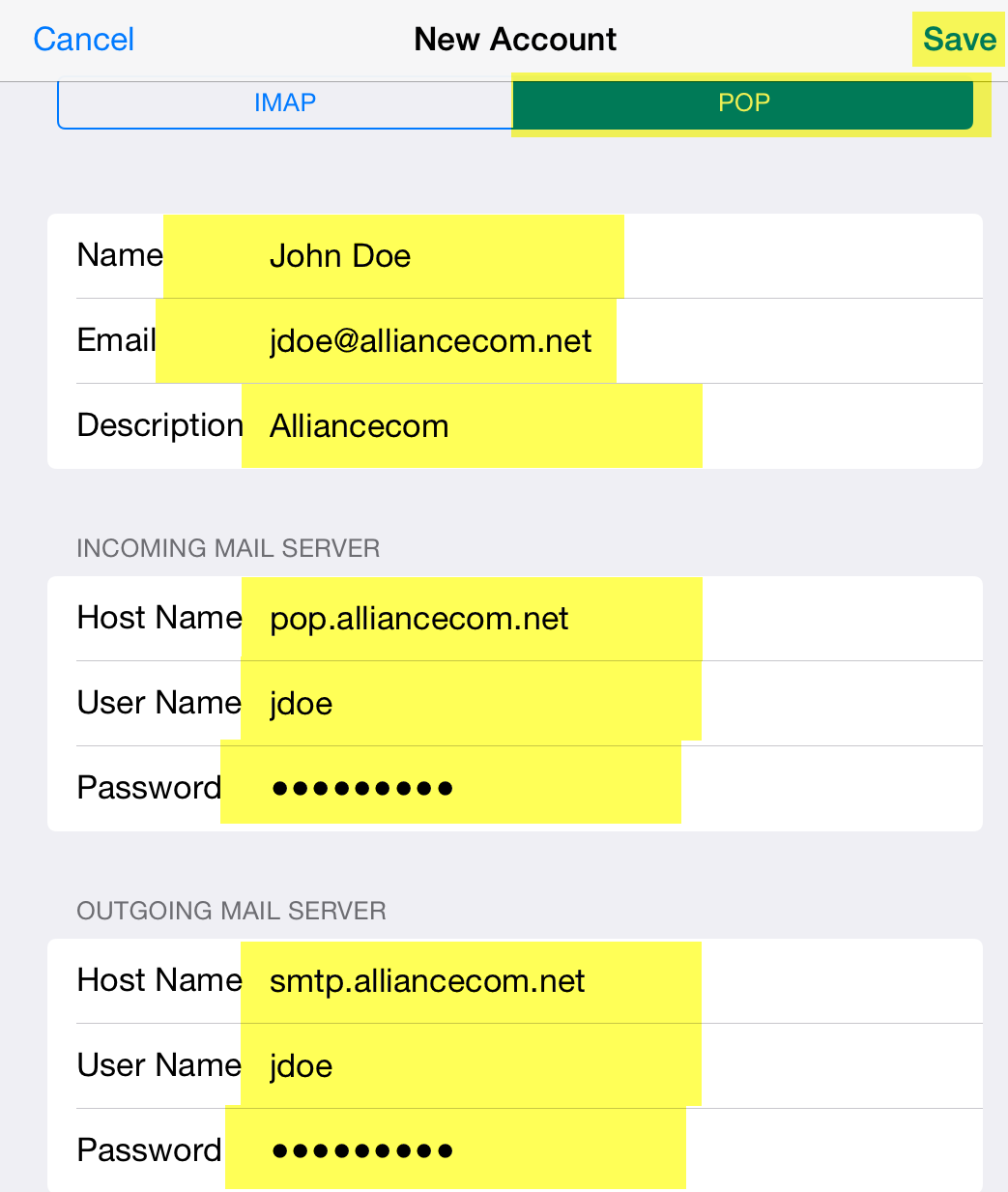 Email support support alliance communications after the email setup returns you to the settings page please choose your alliancecom account you just created under the accounts section biocorpaavc Image collections