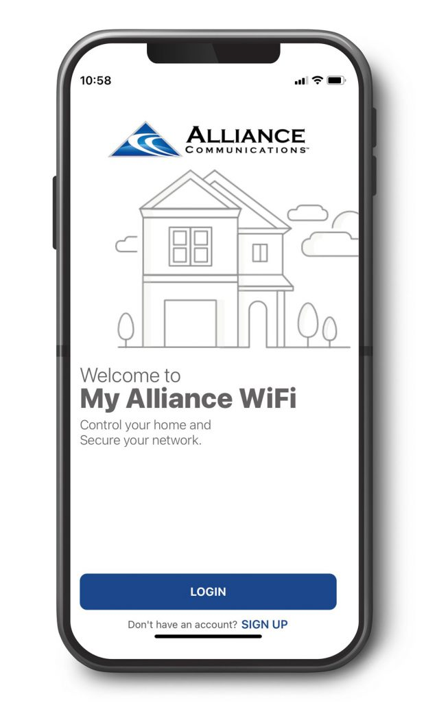 My Alliance WiFi App puts you in control