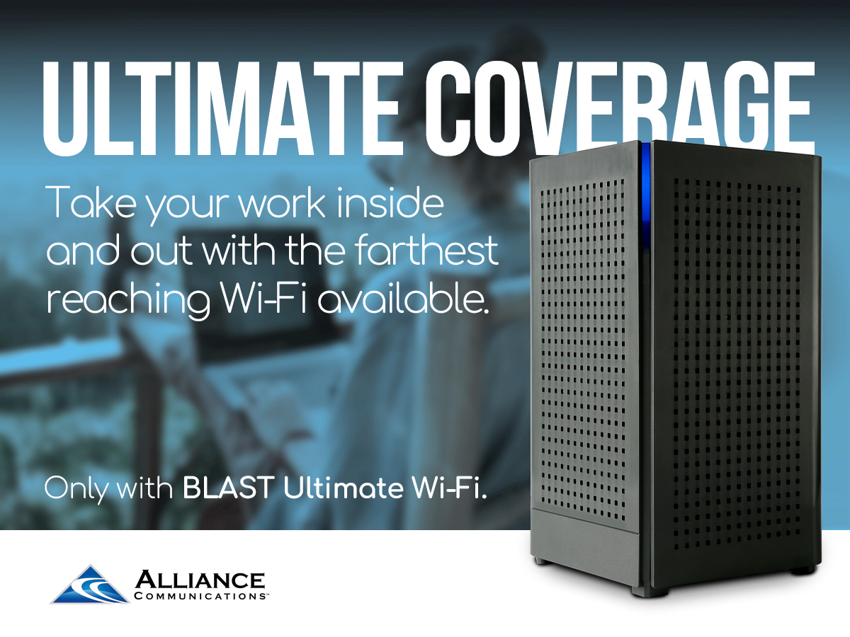 Ultimate Whole Home WiFi Coverage with the Blast WiFi Router